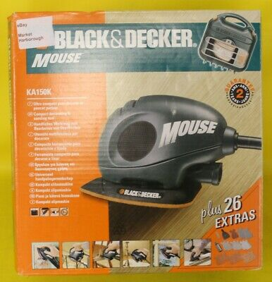 Black Decker Mouse Type-01 KA150K-GB ##MHAI2RG