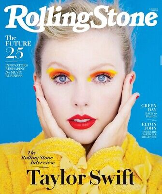 Taylor Swift - Rolling Stone Magazine - October 2019 - New - No Mailing Label