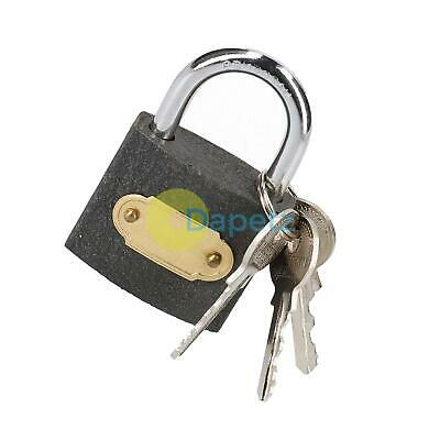 50mm CAST IRON PADLOCK Hardened Shackle Outdoor Security Shed Gate Garage Box