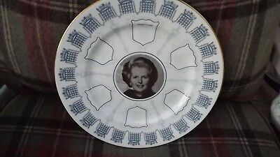1979 Margaret Thatcher elected first Female Prime Minister Caverswall Plate