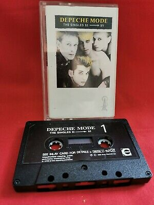 DEPECHE MODE - THE SINGLES 81 TO 85 - CASSETTE TAPE / RETRO SYNTH Pop. **RARE**