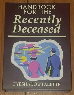 Beetlejuice Handbook for the Recently Deceased Eyeshadow Palette New
