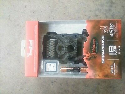 Wildgame Innovations Scrapeline Hunting Game Camera w/Memory Card-16MP