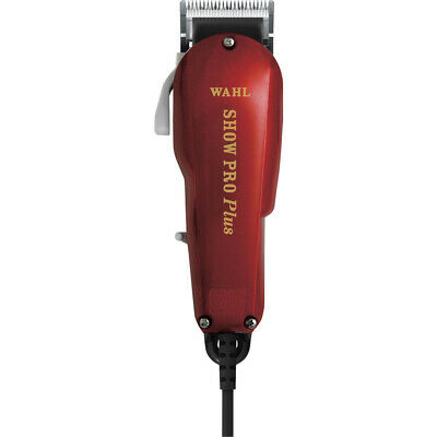 New Wahl Clipper Red Show Pro Plus Corded Equine Clipper Kit