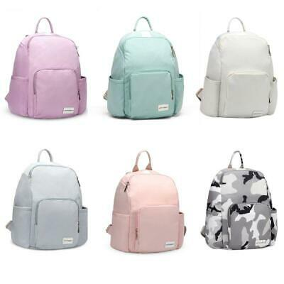 Portable Mummy Maternity Nappy Diaper Bag Backpack with Earphone Hole Daypack