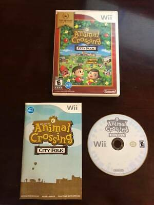 Animal Crossing: City Folk (Nintendo Wii, 2008) - COMPLETE