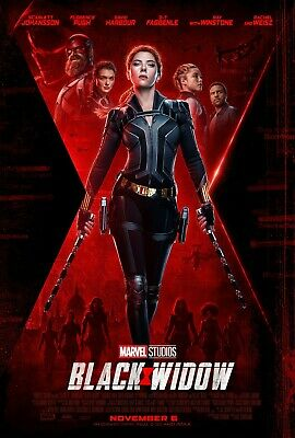 Black Widow Movie Poster (2020) Marvel Avengers - NEW - 11x17 13x19