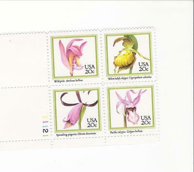 Scott # 2076 - 2079  US Orchids  M/NH  O/G  4 STAMPS ONLY