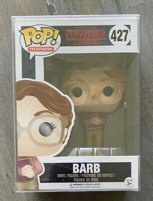Funko Pop Stranger Things Barb 2016 First Series NIB & NM! HTF! w/ Protector!