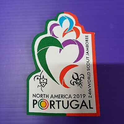 24th World Scout Jamboree 2019 Contingent Official PATCH / PORTUGAL WSJ badge