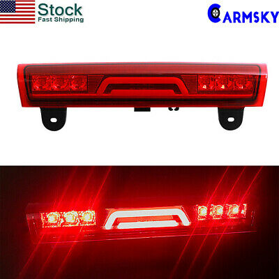 3D 6 LED 3rd Third Tail Brake Light Fit 00-06 Chevy Tahoe/Suburban/Yukon Rear US