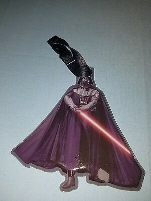 Disney Parks Star Wars Figural Darth Vader Luggage Suitcase Tag New