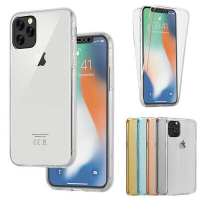 Shockproof 360° Protect Clear Soft Case Cover For iPhone 11 Pro Max XS XR 8 7 6