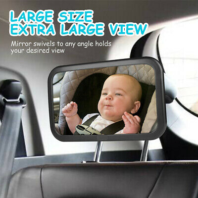 Baby Car Back Seat Rear View Mirror Facing Back Infant Kids Child Toddler Safety