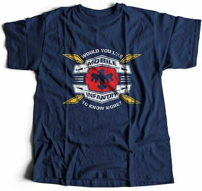 Mobile Infantry Army T-Shirt Infantry Air Force Troopers Invasion War Airfo D270