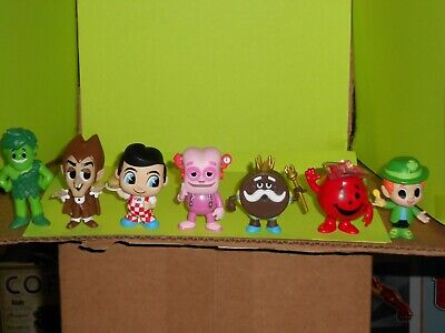 Funko Mystery Minis Ad Icons Lot of 7 Minis. Frankenberry,King Ding Dong Koolaid