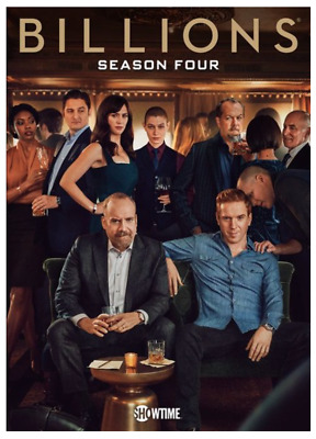 """BILLIONS Season Four"" DVD - NEW/Factory sealed with Slipcover"