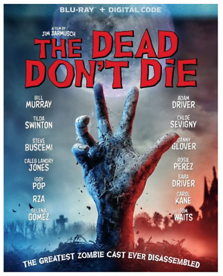 """""""THE DEAD DON'T DIE"""" [Blu0ray + Digital] - NEW/Factory sealed with Slipcover"""