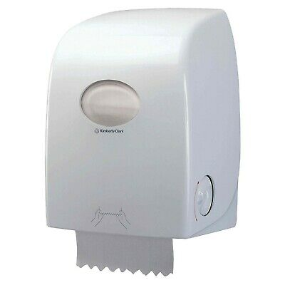 Kimberly Clark 6959 AQUARIUS Rolled Hand Towel Dispenser WHITE Wall Mounting