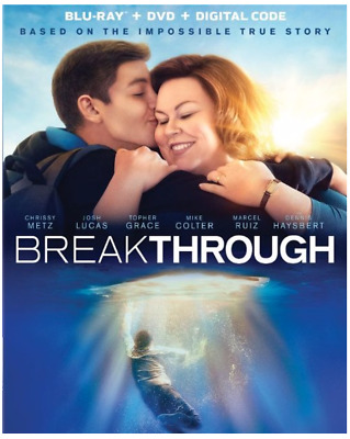 """BREAKTHROUGH"" [BLU-ray + Digital + Digital] NEW/Factory Sealed + Slipcover"