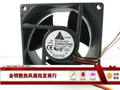 1PCS ASUS EFB0812HB 12V 0.25A graphics card cooling fan 3-wire small plug