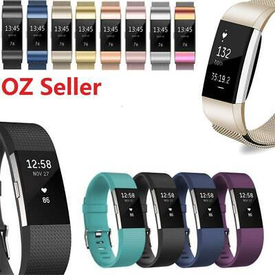 For Fitbit Charge 2   Band Replacement Wristband Watch Strap Bracelet AU