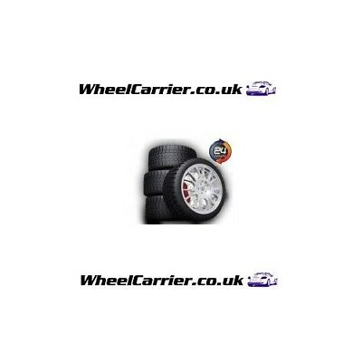 4 x Car Alloy Wheels & Tyres Collection & Delivery Courier Service