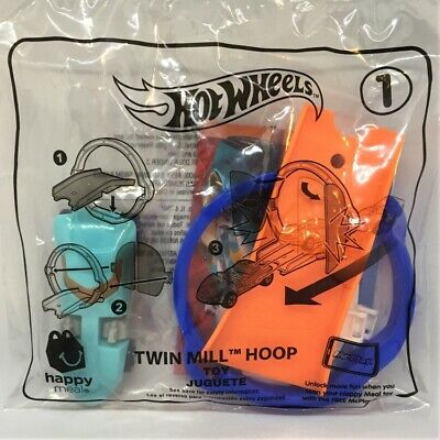 ☆ Hot Wheels Twin Mill Hoop ☆ New 2019 McDonald's Happy Meal Toy #1