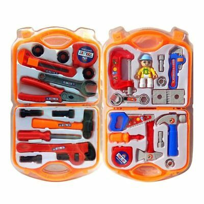 Boys Kids Children Role Play Builder Toy Tool Set In Hard Carry Case Rapture