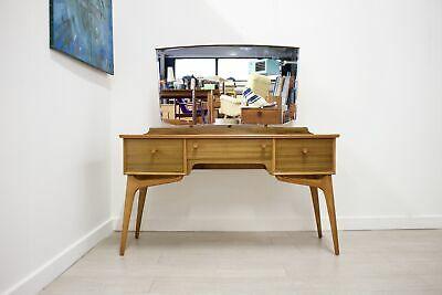 DELIVERY £50 Mid Century Retro Walnut Dressing Table by Alfred Cox