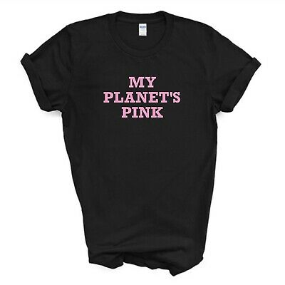 Pink T-Shirt/My Planet's Pink T-Shirt/Love Pink/Black/White/Kids Ladies Mens