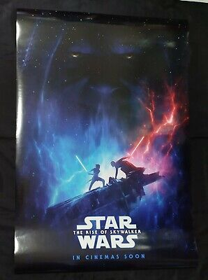 Original Star Wars The Rise of Skywalker 2019 DS Double Sided Movie Poster 27X40