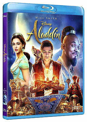 Aladdin Live Action Blu-ray