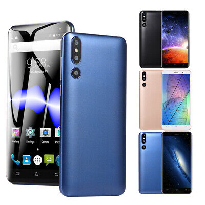 "5"" Android 6.0 Unlocked Cheap Mobile Smart Phone Quad Core Dual SIM WiFi 3G GPS"
