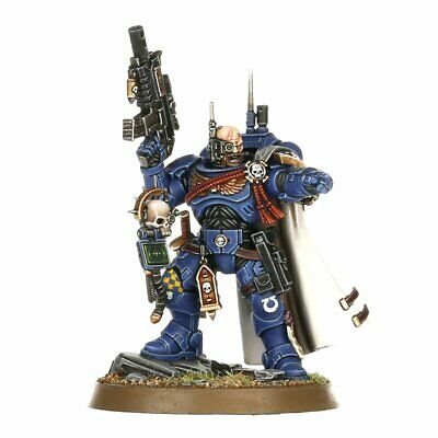 Captain in Phobos armour - Vanguard Space Marines Primaris - Shadowspear - 40k