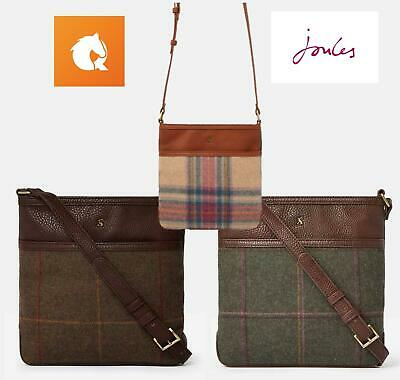 Joules Uxhall Tweed Small Cross Body Pouch / Bag - AW19