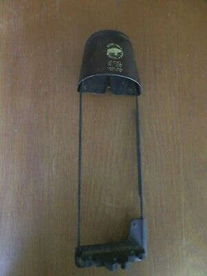 """Vintage Bear Archery leather top QUIVER Grayling Mi 4 arrow tape on 11"""" long"""