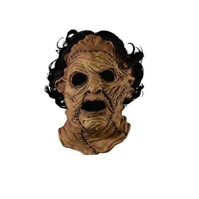 Trick or Treat Texas Chainsaw Massacre 3D Leatherface Mask Halloween RLRL101