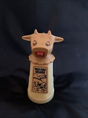 Vintage Restaurant Ware Moo-cow Creamer By Whirley Industries Warren PA 6.5""