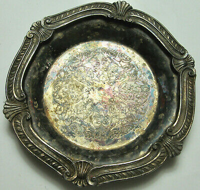 Lunt Decorative Heavy Silver Plated Dish