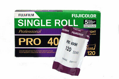 Fuji PRO 400H 120 Medium Format Colour Print Film - ONE 120 Roll - DATED 11/2020