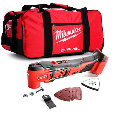 Milwaukee M18BMT M18 18V Compact Multi Tool With 24 inch Wheel Fuel Bag