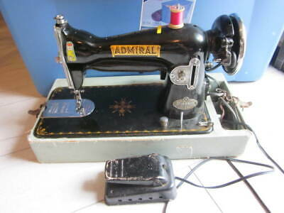 Vintage Antique Admiral Sewing Machine Dial-O-Matic