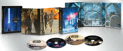 Star Wars: The Force Awakens (Blu-ray/DVD, 2016, 3D Includes Digital Copy)