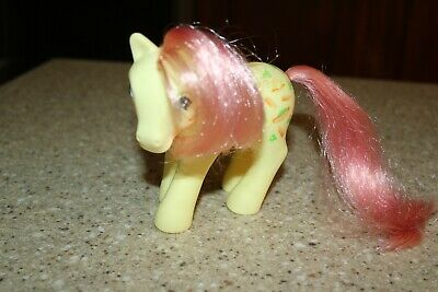 My Little Pony MUNCHY Twice As Fancy ~ 1987 ~ Hot Dog Hamburger Vintage