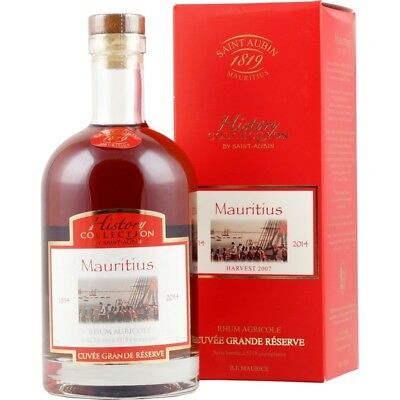 Saint Aubin History Collection Mauritius Rum 0,7l 40%