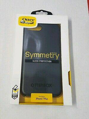 New OtterBox Symmetry Series Case for Apple iPhone 7 Plus & 8 Plus Black