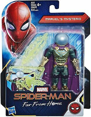"""Spider-Man: Far From Home, Mysterio Action Figure, 6"""""""