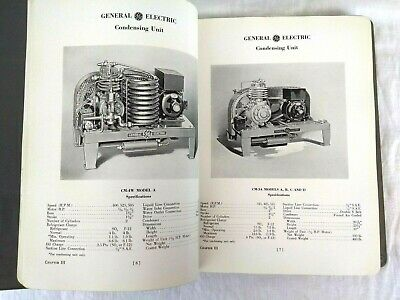 General Electric Refrigerating Machines Commercial Product Manual 1937