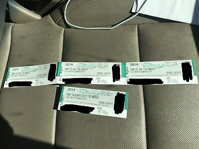 Hershey Park One Day Admission Tickets expiring 9/29/19 - four (4) tickets